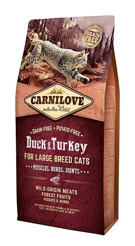 Сухой корм Carnilove 6кг Duck & Turkey for Large Breed