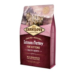 Сухой корм Carnilove 400г Salmon & Turkey for Kittens