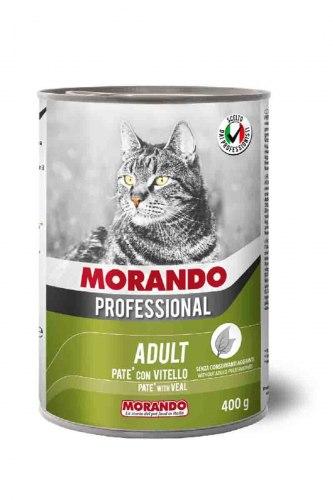 Паштет Morando Proffessional для кошек с телятиной, 400г