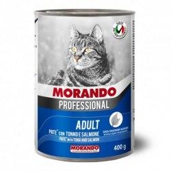 Паштет Morando Proffessional для кошек тунец/лосось , 400г