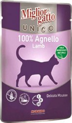 Консерва Unico для кошек с ягненком, 85г