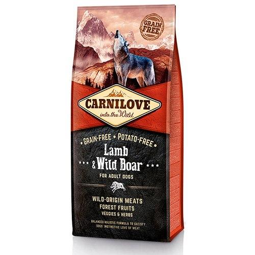 Сухой корм Carnilove 12 кг Lamb & Wild Boar for Adult
