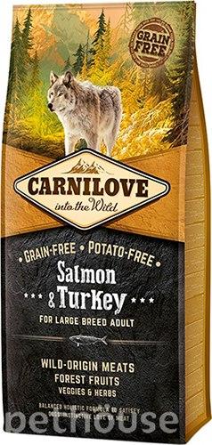 Сухой корм Carnilove 1,5кг Salmon & Turkey for Large Breed Adult
