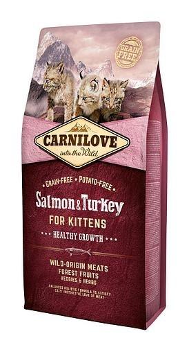 Сухой корм Carnilove 6кг Salmon & Turkey for Kittens