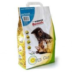 Наполнитель S.Benek 25 л. Corn Cat Морской Бриз