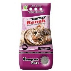 Наполнитель S.Benek 10 л. Compact Lawenda