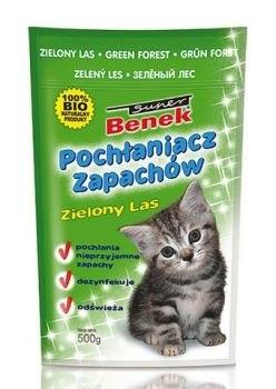 Поглотитель запаха S.Benek 0,45 кг. Зеленый лес