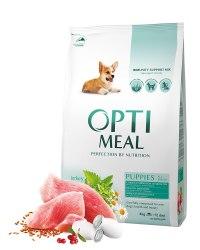 Сухой корм Optimeal для щенков всех пород - индейка, 4 кг