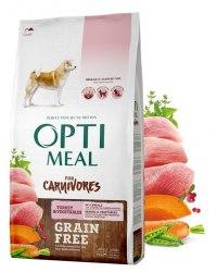 Сухой корм Optimeal Беззерновой, для взрослых собак всех пород - индейка и овощи, 10 кг