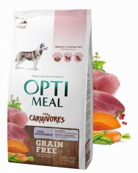 Сухой корм Optimeal 10,5кг (8,4+2,1) Беззерновой, для собак всех пород - утка и овощи