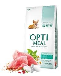 Сухой корм Optimeal для щенков всех пород - индейка, 12 кг