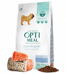 Сухой корм Optimeal 20кг Гипоаллергенный для взрослых собак средних пород - лосось