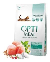 Сухой корм Optimeal корм для котят - курица, 4 кг