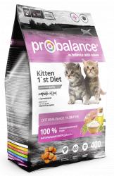 Сухой корм ProBalance 1 st Diet корм сухой для котят, цыпленок 10 кг