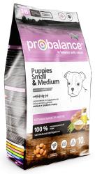 Сухой корм ProBalance Immuno Puppies Small&Medium корм для щенков малых и средних пород 10 кг