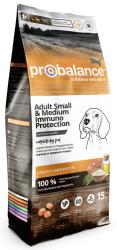 Сухой корм ProBalance Immuno Adult Small&Medium корм для взрослы собак малых и средних пород 15 кг