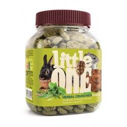 Лакомство Little One Травяные подушечки для всех видов грызунов, банка, 100 г