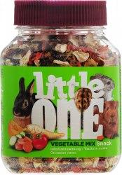 Лакомство Little One Овощная смесь для всех видов грызунов, банка, 150 г.