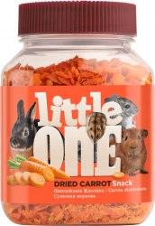 Лакомство Little One Сушеная морковь, для всех видов грызунов, банка, 200 г.