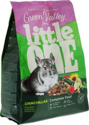 Корм Little One Зеленая долина, из разнотравья для шиншилл, пакет, 750 г.