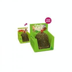 Лакомство -игрушка Little One Колокольчик, для всех видов грызунов , шоу-бокс, 150 г