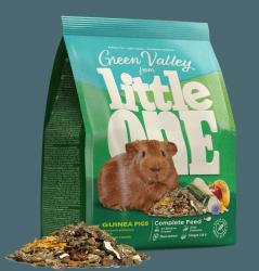 Корм Little One Зеленая долина, из разнотравья для морских свинок, пакет 750 г.