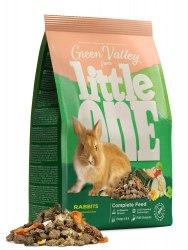 Корм Little One Зеленая долина, из разнотравья для кроликов, пакет, 750 г.