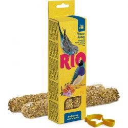 Палочки RIO для волнистых попугаев и экзотических птиц с медом, 2х40г