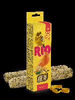Палочки RIO для канареек с медом и полезными семенами, коробка 2х40 г.