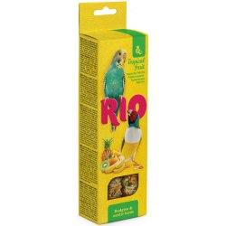 Палочки RIO для канареек с тропическими фруктами, коробка 2х40г