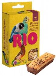 Бисквиты RIO для птиц с полезными семенами, 5*7 г