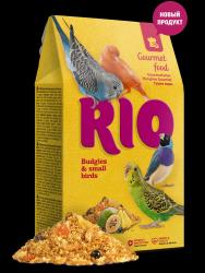 Корм RIO Гурмэ для волнистых попугайчиков и других мелких птиц, 250 г