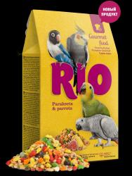Корм RIO Гурмэ для средних и крупных попугаев, 250 г