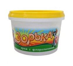Крем Зорька с флорализином 200 г.