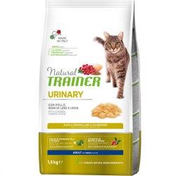 Сухой корм TRAINER для кошек при мочекаменной болезни, курица 1,5 кг