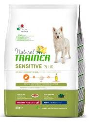 Сухой корм TRAINER для собак средних пород с чувствительным пищеварением, кролик 3 кг