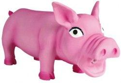 Игрушка TRIXIE из латекса, для собаки Свинка, со звуком, 17 см