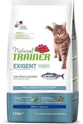 Сухой корм TRAINER для привередливых кошек с океанической рыбой 1,5 кг