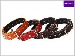 Ошейник Collar кожаный, безразмерный, подшитый, ширина 15мм, обхват шеи до 35 см