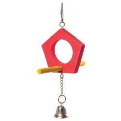 "Игрушка Triol для птиц ""Качели-домик"", 175/205*125мм"