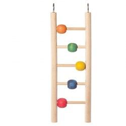 "Игрушка Triol для птиц ""Лестница с шариками"", 235*70мм"