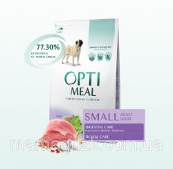 Сухой корм Optimeal для собак мелких пород с уткой, НА РАЗВЕС 100г