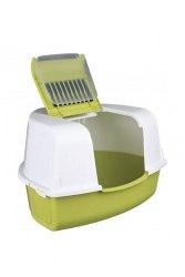 Туалет-бокс Bergamo угловой формы с фильтром ARIEL (58 х 4