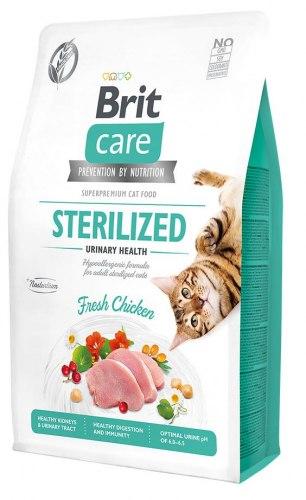 Сухой корм Brit Care Cat GF Sterilised Urinary Health НА РАЗВЕС 100г