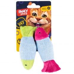 """Игрушка FANCY PETS для котов """"Микс рыбок"""", 11,5 см"""