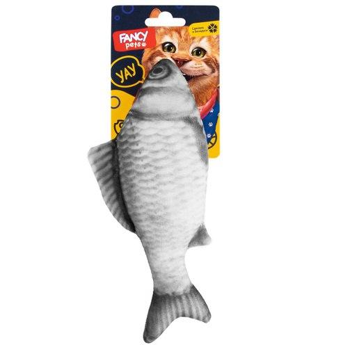 """Игрушка FANCY PETS для котов """"Рыба"""", 21 см"""