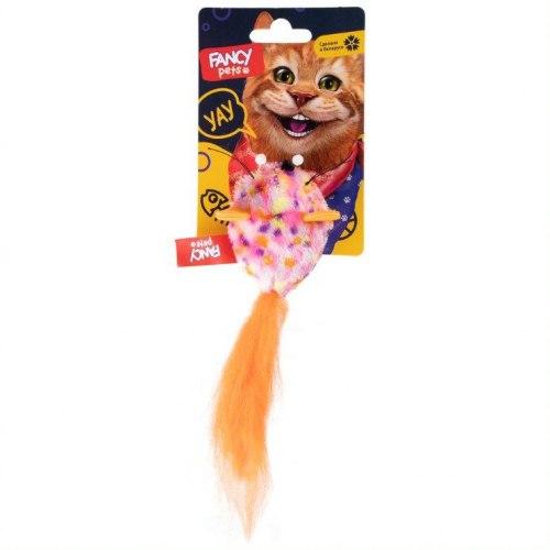 """Игрушка FANCY PETS для кошек, """"Шарик-мышь"""", длина 5 см"""