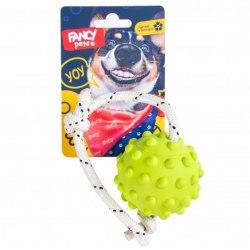 """Игрушка FANCY PETS для собак, """"Мячик на веревке"""", 30 см./диам.8,5 см."""