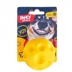 """Игрушка FANCY PETS для собак, """"Мячик Сырник"""", диаметр 6,5 см."""