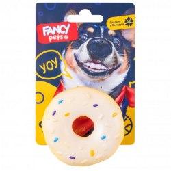 """Игрушка FANCY PETS для собак, """"Пончик"""", диаметр 7 см."""